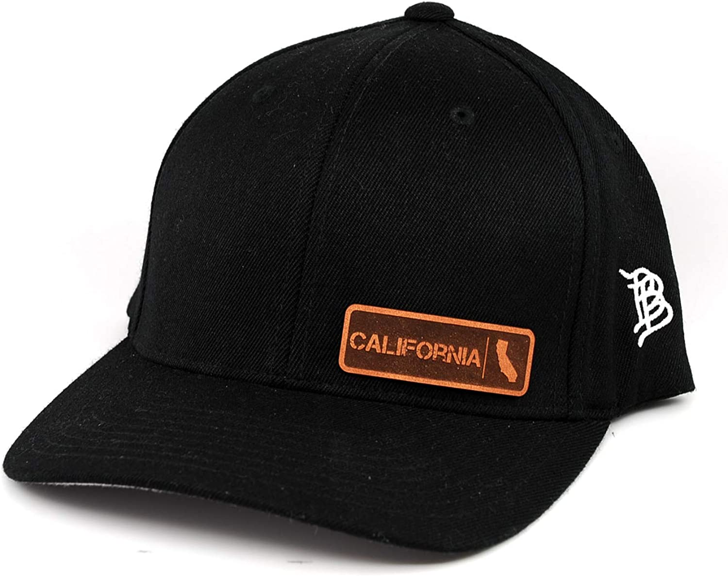 Branded Bills 'California Native' Easy-to-use Leather Patch Flex L Hat Minneapolis Mall - Fit