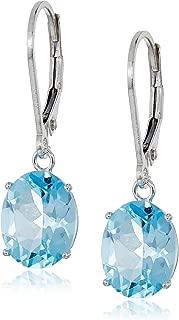 glacier topaz earrings