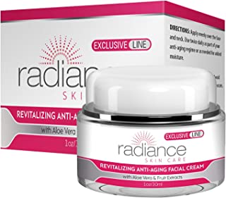REVITALIZING Anti-Aging Facial Cream - Ultra Premium Moisturizer With Collagen - Diminish Fine Lines and Wrinkles
