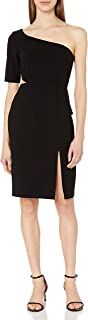 Women's One Shoulder Dress with Side Cut Out