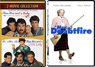 Men & Diapers Comedy Mrs. Doubtfire & Three Men & A Baby + Little Lady 3-Movie Collection DVD Robin Williams & Ted Danson ...