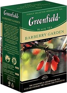 Greenfield Schwarzer Tee Barberry Garden lose 100g Schwarztee Berberitze