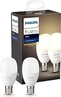 Philips Hue ホワイトシングルランプ E17(電球色)2個セット |2700K E17スマートLEDライト2個| 929002040002【Amazon Echo、Google Home、Apple HomeKit、LINE対応】