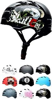 SkullCap® Casco BMX - Casco Skate - Casco Bici...