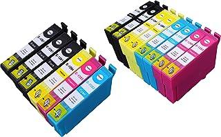 14 Multipack de alta capacidad Epson T1285 Cartuchos Compatibles 5 negro, 3 ciano, 3 magenta, 3 amarillo para Epson Stylus Office BX305F, Stylus Office BX305FW, Stylus Office BX305FW Plus, Stylus S22, Stylus SX125, Stylus SX130, Stylus SX230, Stylus SX235W, Stylus SX420W, Stylus SX425W, Stylus SX430W, Stylus SX435W, Stylus SX438W, Stylus SX440W, Stylus SX445W. Cartucho de tinta . T1281 , T1282 , T1283 , T1284 © 123 Cartucho