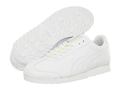 PUMA Roma Basic (White/Light Grey) Men