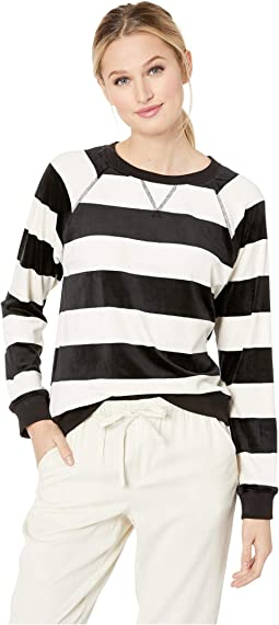 La Brea Stripe Pullover Top