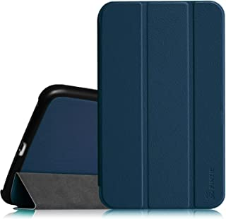 Fintie Samsung Galaxy Tab 4 8.0 (8-Inch) Case - Ultra Lightweight Protective Slim Shell Stand Cover with Auto Sleep/Wake Feature, Navy
