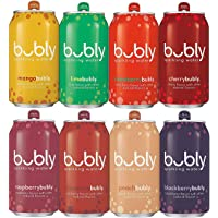 18-Pack Bubly Berry Bliss Sampler Sparkling Water (12 fl oz. Cans)