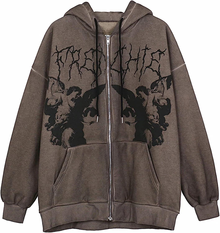 Girls Women Y2K Sweatshirt Long Sleeve Crewneck Graphic/Letter Printed Pullover Shirt Tops 90s E-Girls Streetwear