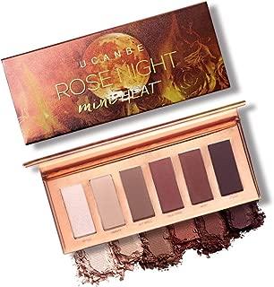 Ucanbe Rose Night 6 Color Eye Shadow Powder Palette Matt Eyeshadow Concealer Cosmetic Makeup