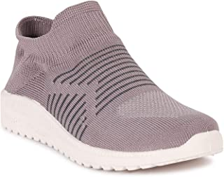 Bella Toes Women's Textile Slip-On Lightweight Breathable Running Walking Shoes_ML-39