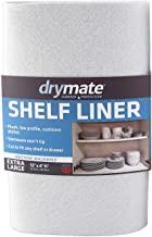 """Drymate Premium Shelf Liner and Drawer Liner (Set of 2), (12"""" x 59""""), Non Adhesive, Durable, Slip Resistant – Absorbent/Waterproof – For Drawers, Shelves and Cabinets, Made in the USA"""