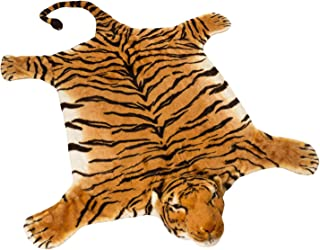 BRUBAKER Huge Brown Tiger Rug 72×42 Inch