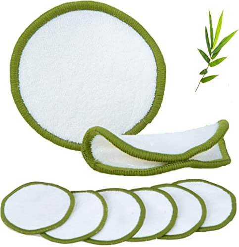 No Frills Pack of 16 Reusable Makeup Remover Pads - Washable Eco-Friendly Bamboo Cotton Face Pads - AU Seller - CRL N...