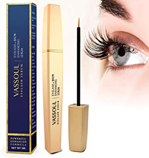 db89442ef40 Vassoul Eyelash Growth Serum for Longer, Thicker and Fuller Lash & Brow