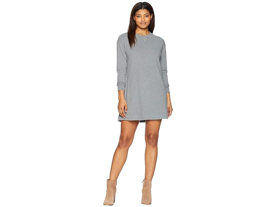 United By Blue Leidy Fleece Dress (Steel Grey) Women