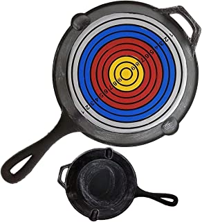 Komikku Gears Battleground-PUBG- Foam Frying Pan 1:1 Scale Prop Replica - Target Pan and Olive Branch Pan