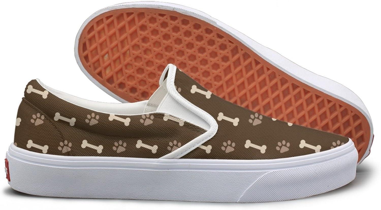 Dog Footprints And Bones Running Sneakers For Women
