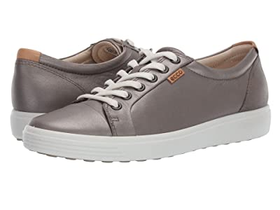 ECCO Soft 7 Sneaker (Stone Metallic) Women