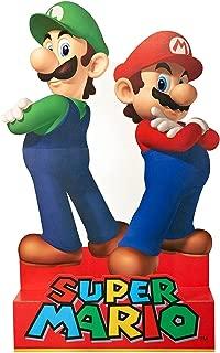 Birthday Express Super Mario Party Supplies - Mario & Luigi Life Size Cardboard Standup Combo Kit