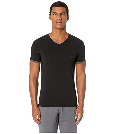 Emporio Armani Athletics Slim Fit V-Neck T-Shirt