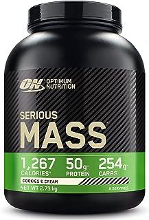 Optimal näring allvarlig massproteinpulver med hög kalorimassa gainer med vitaminer, kreatinmonohydrat och glutamin, kakor...
