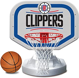 Poolmaster 72912 Los Angeles Clippers NBA USA Competition-Style Poolside Basketball Game