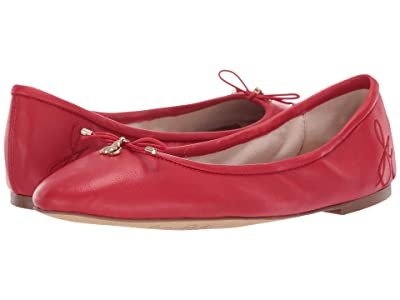 Sam Edelman Felicia (Candy Red North Leather) Women