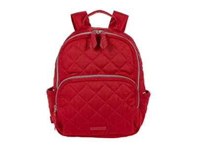 Vera Bradley Performance Twill Small Backpack (Cardinal Red) Backpack Bags