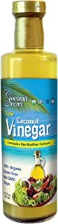 Coconut Secret Raw Coconut Vinegar - 12.7 fl oz - Rich in Vitamins & Amino Acids - Organic, Vegan, Non-GMO, Gluten-Free, Kosher - Keto, Paleo, Whole 30 - 24 Servings