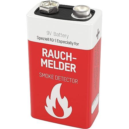 Ansmann Lithium Longlife Rauchmelder 9v Block Batterien Elektronik