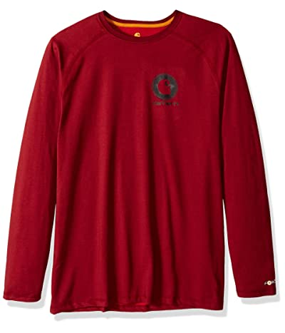 Carhartt Force Cotton Delmont Long Sleeve Graphic T Shirt