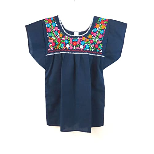 6770bad2c09b31 Embroidered Mexican Peasant Blouse  Amazon.com