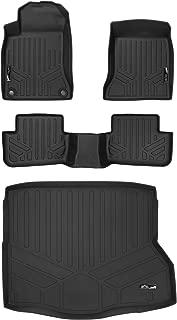 MAXLINER Floor Mats 2 Rows and Cargo Liner Set Black for 2014-2018 Mercedes Benz CLA