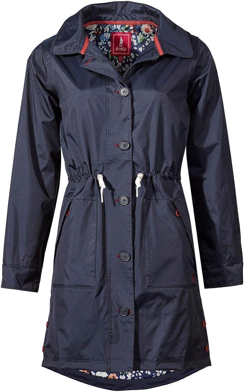 Jack Murphy Rachel Waterproof Coat Womens blueee Horse Riding Jacket Outerwear