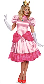 Women's Nintendo Super Mario Bros.Princess Peach Deluxe Costume
