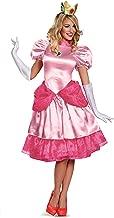 Disguise Women's Nintendo Super Mario Bros.Princess Peach Deluxe Costume