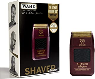 Wahl Professional 5-Star Series Rechargeable Shaver/Shaper #8061-100 - Up to 60 Minutes of Run Time - Bump-Free, Ultra-Clo...