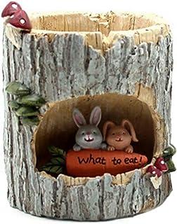 Little Nursery Rhyme Hedgehog Classroom Brown Bear Family Flowerpot (B3)