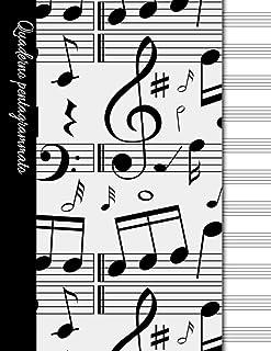 Quaderno della Musica righe   50 pagine di .. Compra anche gli altri quaderni con lo stesso design Pentagrammato password formato 21,59 x 27,94 cm quadretti sketchbook ... 8,5x11 in