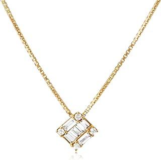 [ベルシオラ] ダイヤモンド イエローゴールド ネックレス 4007431614803999