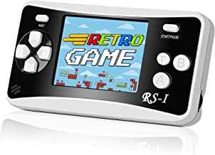 """Mademax RS-1 Handheld Game Console, 400 Classic FC Retro Game Player with 2.5"""" 8-Bit LCD Portable Video Games, Built-in 40..."""
