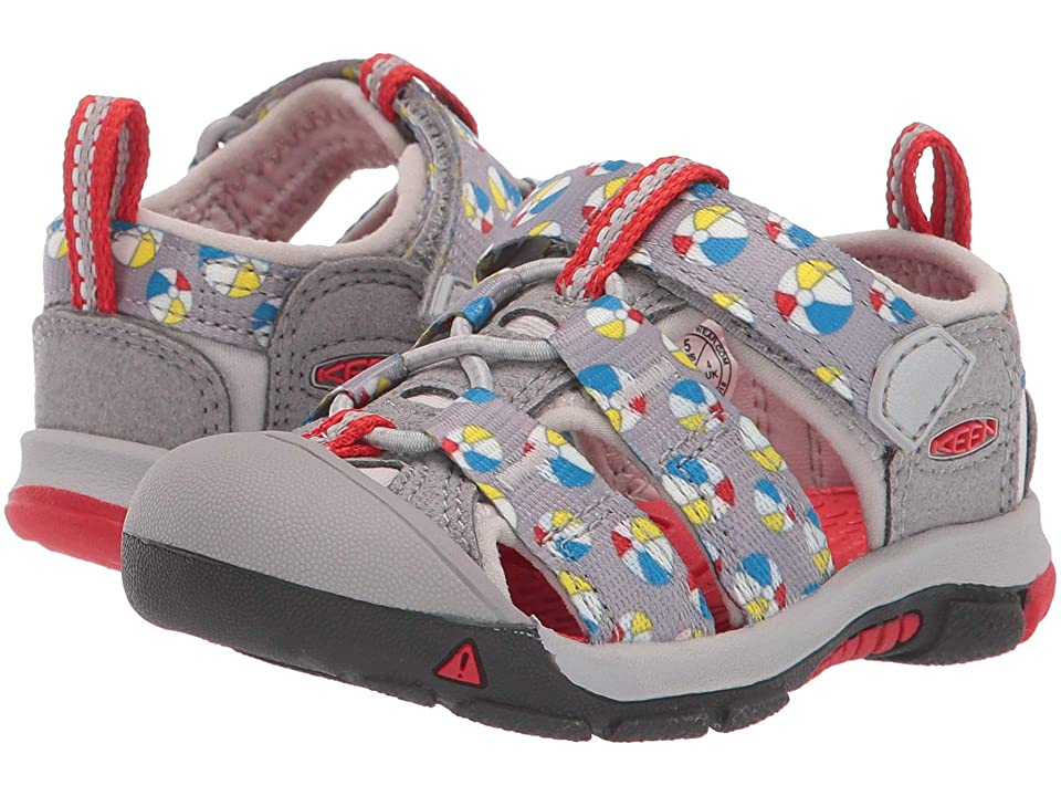 Keen Kids Newport H2 (Toddler) (Paloma Beach Balls) Kids Shoes