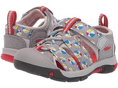 Keen Kids Newport H2 (Toddler) (Paloma Beach Balls) Kids Shoes