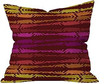 Deny Designs Karen Harris Poppycock Sunset Throw Pillow, 16 x 16