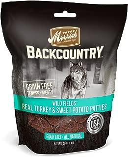 Merrick Backcountry Wild Prairie Real Turkey & Sweet Potato Patties Grain Free Dog Treats