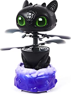 Dreamworks Dragons Flying Toothless Interactive Dragon with Lights and Sounds, for Kids Aged 6 and Up