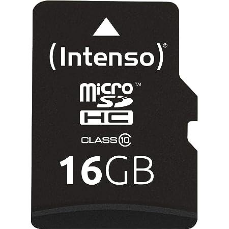 Intenso Micro Sdhc 16gb Class 10 Speicherkarte Inkl Computer Zubehör