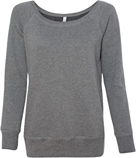 Canvas Ladies Fleece Wide Neck Sweatshirt